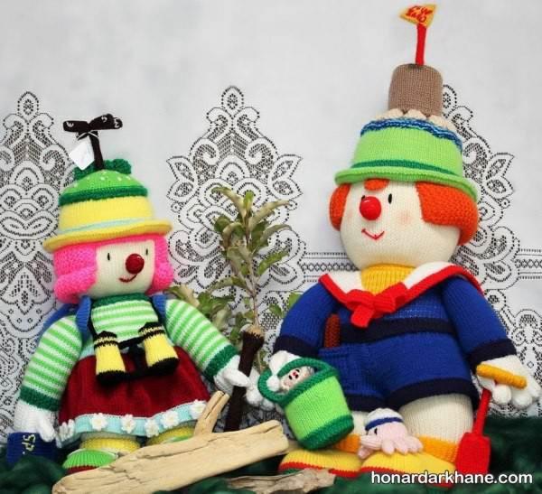 بافت عروسک زن و مرد