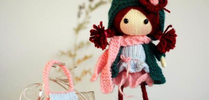 عروسک بافتنی با قلاب