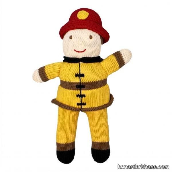 مدل عروسک پسرانه بافتنی