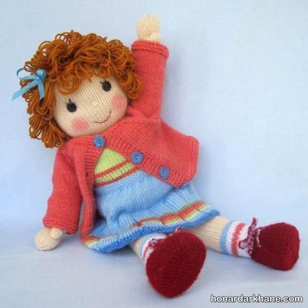 عروسک بافتنی جدید دختر