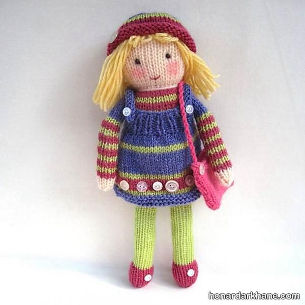 مدل های عروسک بافت دخترانه