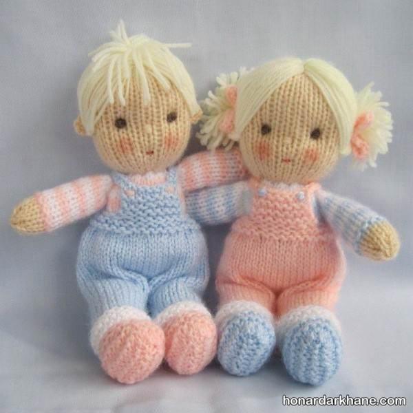 عروسک های بافتنی جدید