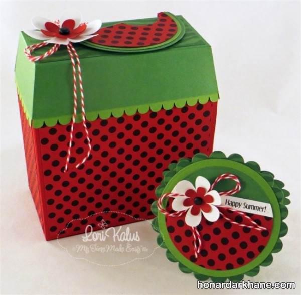جعبه کادو هندوانه برای شب یلدا