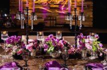 تزیین میز با گل طبیعی
