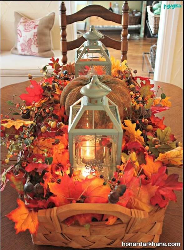 تزیین پاییزی خونه