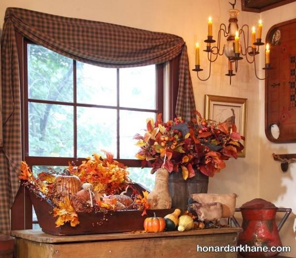 تزیین پاییزی خانه