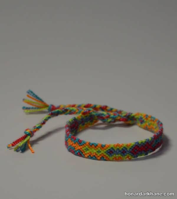 آموختن بافت دستبند به روشی ساده