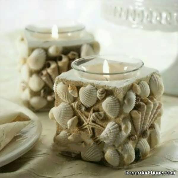 انواع مختلف تزیین شمع