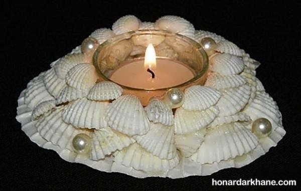 مدل های زیبا و جدید شمع آرایی در خانه