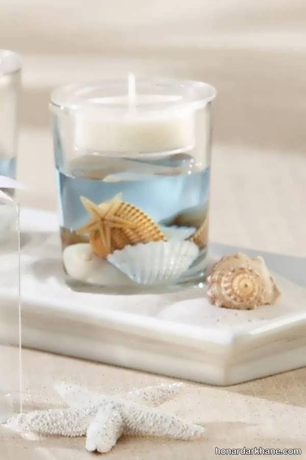 انواع جدید و شیک تزیین شمع