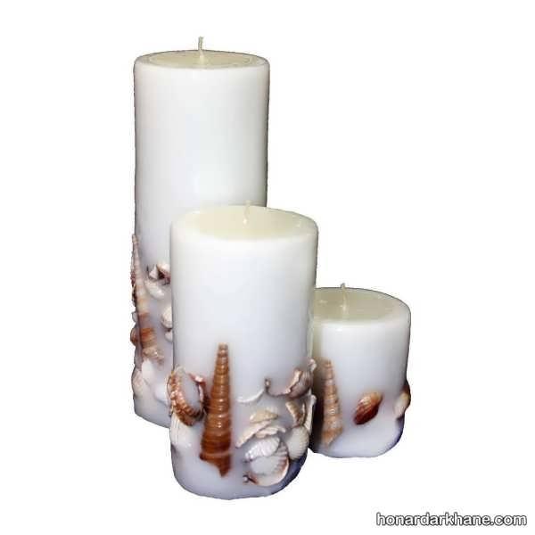 مدل های جالب و شیک تزیین شمع