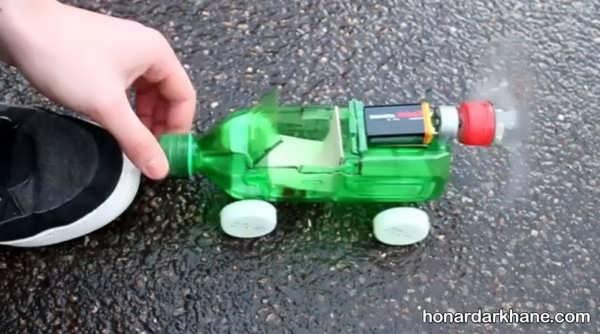 نحوه درست کردن اتومبیل با وسایل مختلف