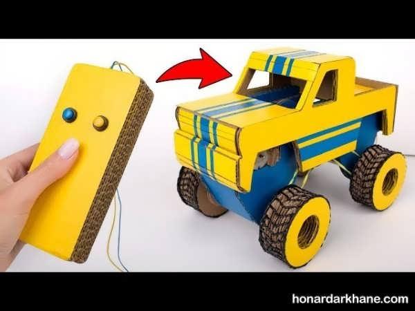 ساخت کاردستی ماشین پلیس
