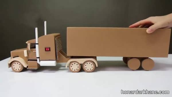 کاردستی اتومبیل با ایده های جالب