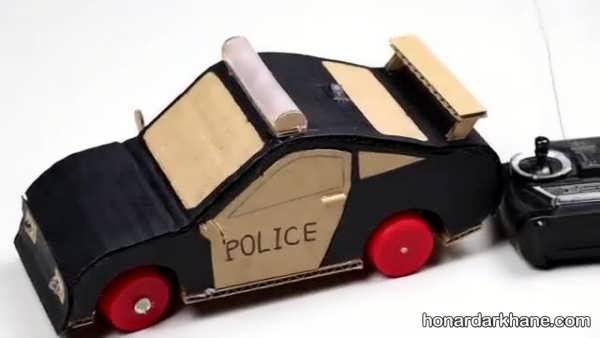کاردستی اتومبیل با ایده های جدید