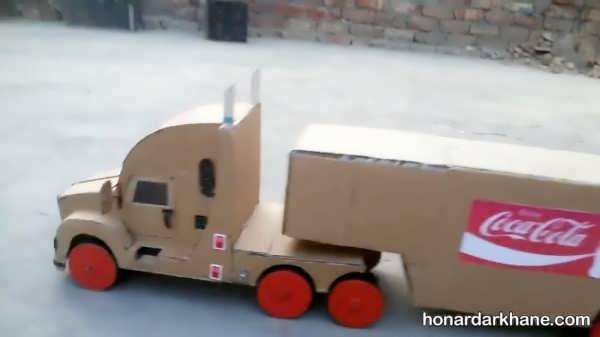 روش ساختن کاردستی به شکل اتومبیل