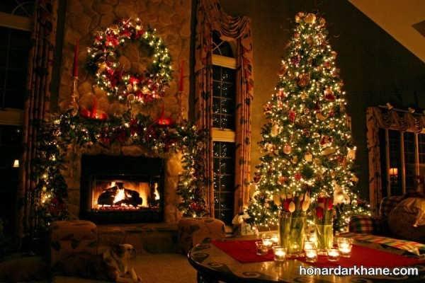 انواع آذین زیبا درخت کریسمس