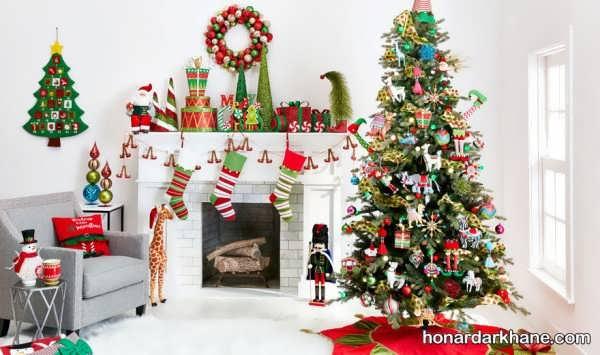 انواع تزیین جالب درخت کریسمس