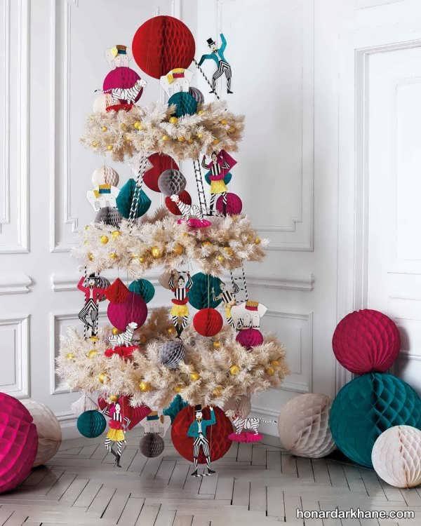 انواع آذین خاص درخت کریسمس