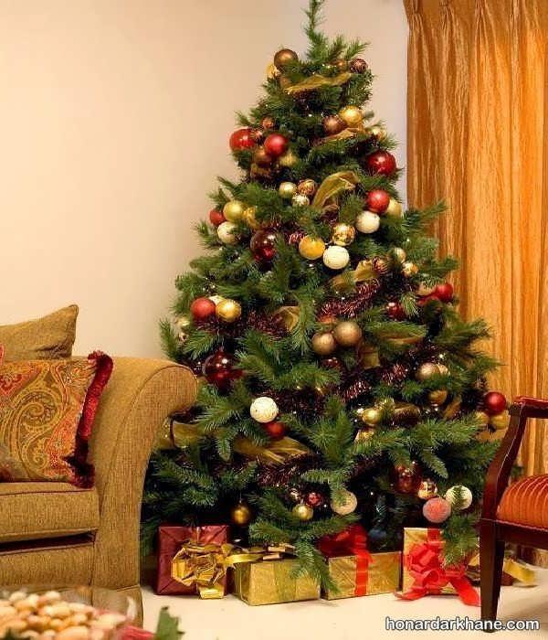 انواع آذین درخت کریسمس