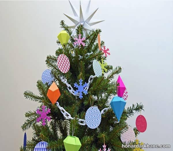 انواع زیبا تزیین درخت کریسمس