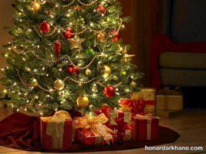 انواع آذین بندی درخت کریسمس
