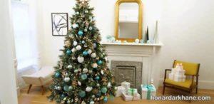 انواع آذین جدید درخت کریسمس