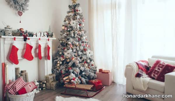 انواع آذین جذاب درخت کریسمس