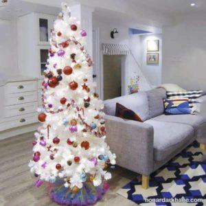 انواع آراستن درخت کریسمس