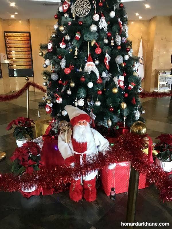 انواع مختلف تزیین درخت کریسمس