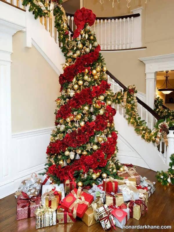 انواع تزیین شیک و جذاب درخت کریسمس