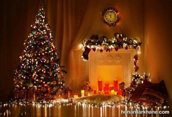 انواع مختلف آذین بندی درخت کریسمس