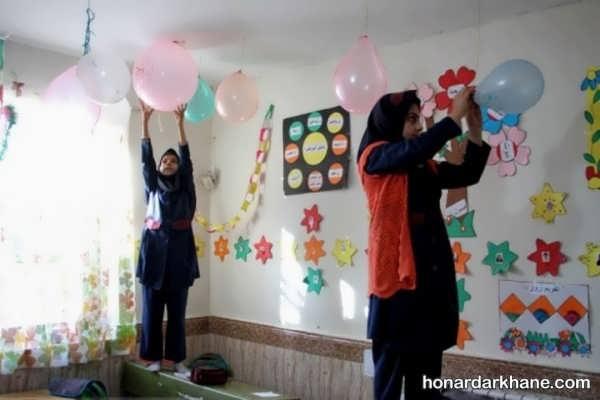 انواع تزیین کلاس به مناسبت 22 بهمن