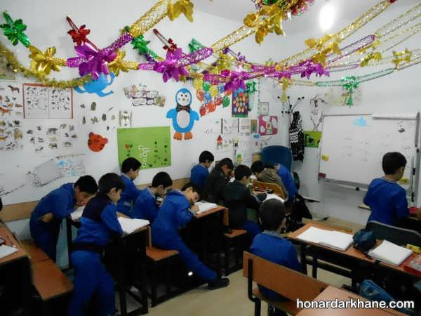 انواع مختلف آراستن مدرسه و کلاس برای 22 بهمن