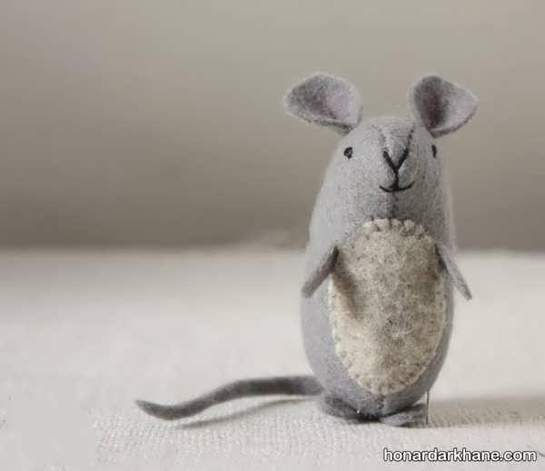 آموزش ساخت موش نمدی