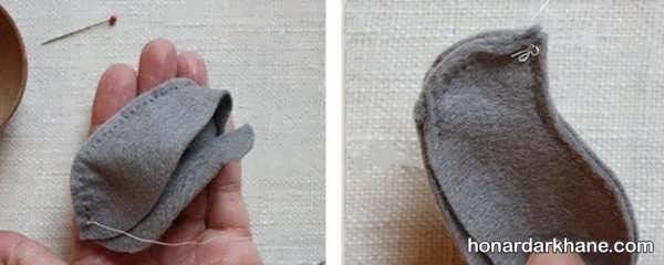 طرز درست کردن عروسک موش فانتزی