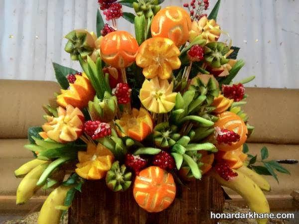 مدل های جذاب میوه آرایی در شب چله