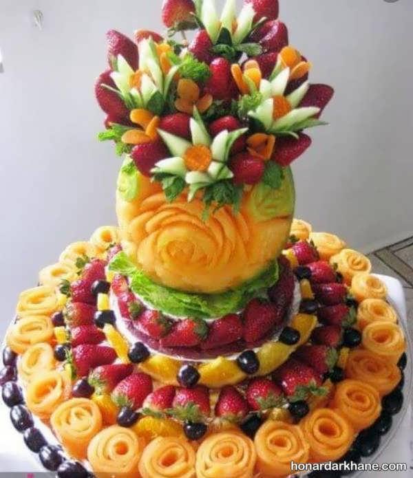 مدل های جذاب و زیبا تزیین میوه برای شب یلدا
