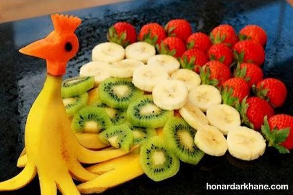 انواع جالب و شیک میوه آرایی شب یلدا