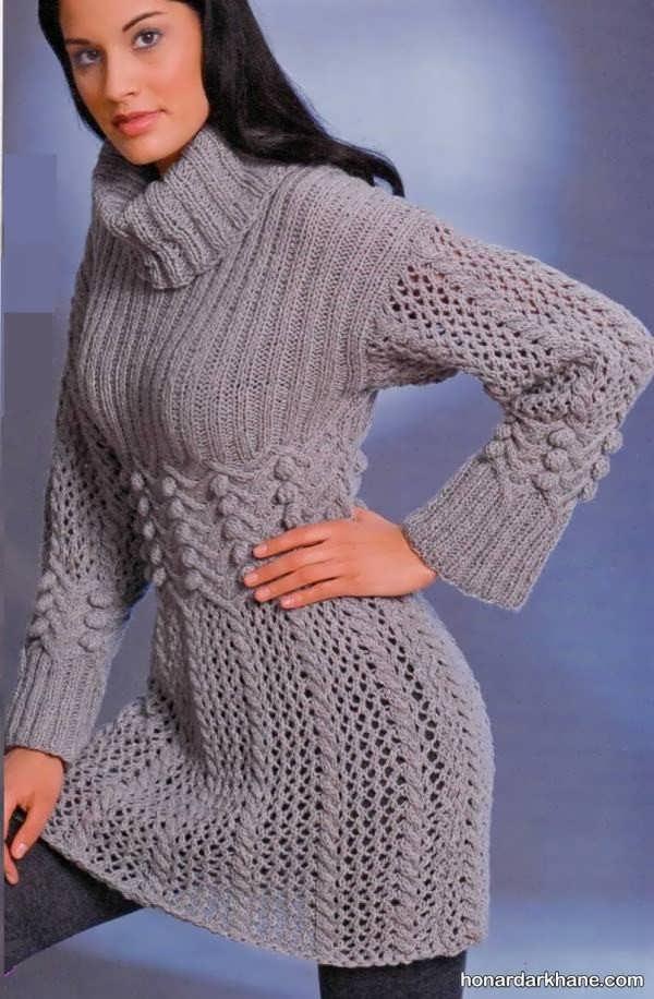 جالب ترین مدل های بلوز بافتنی دخترانه