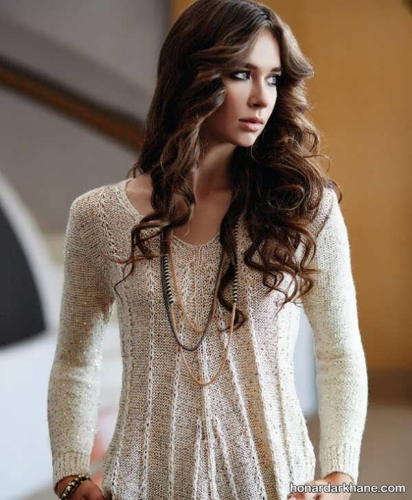 انواع بسیار شیک لباس بافت زمستانه