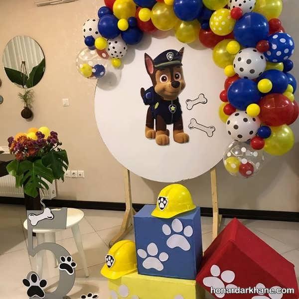 برپایی جشن تولدی بی نظیر با تم سگ های نگهبان