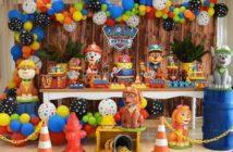برگزاری جشن تولد با تم سگ های نگهبان