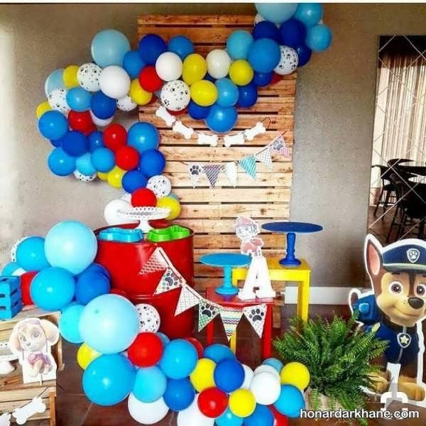 برپایی جشن تولد با تم زیبا پاو پاترول