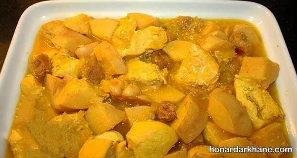 طرز تهیه خورش به آلو با طعمی لذیذ