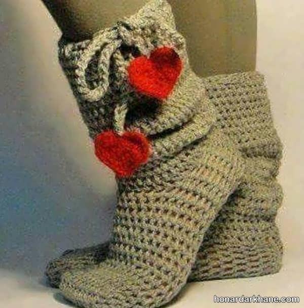 مدل های شیک و جدید جوراب زمستانه