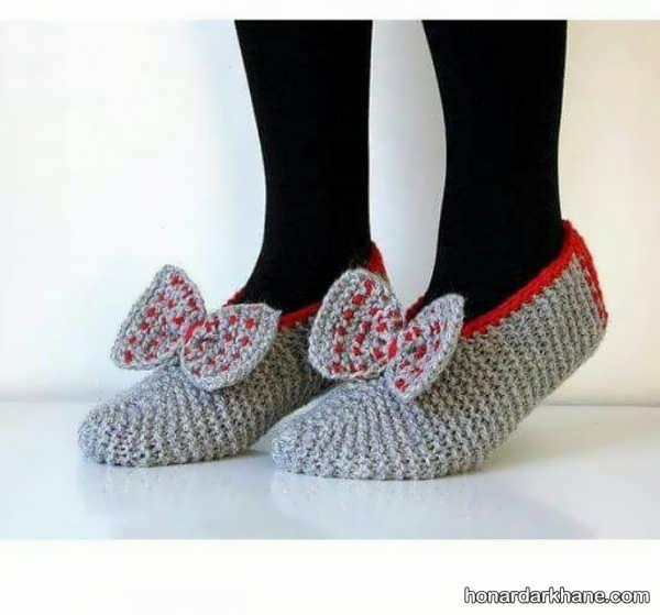 مدل های کوتاه جوراب بافتنی