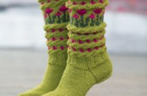 جدیدترین مدل های جوراب بافتنی