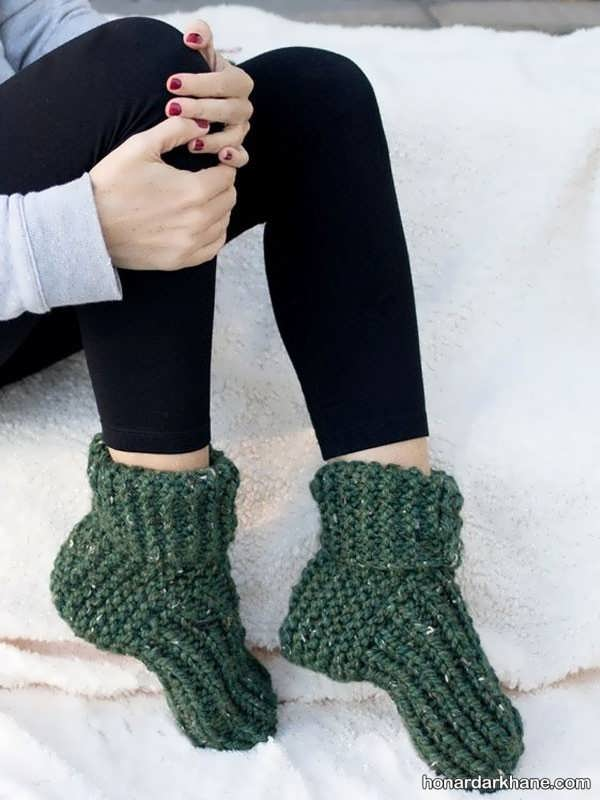 مدل های زیبا جوراب زمستانه زنانه