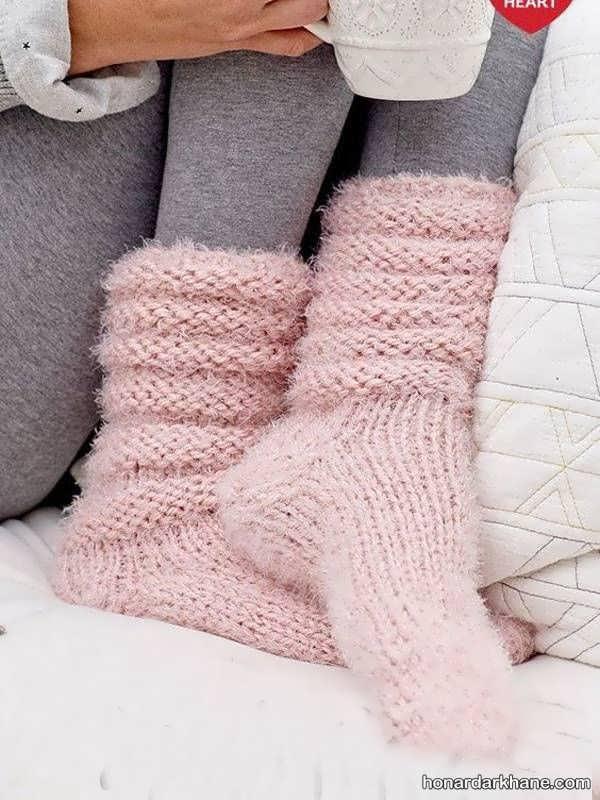 مدل های جدید و ساق بلند جوراب زمستانه